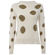 Buy White Stuff Hot Cocoa Jumper, Neutrals Online at johnlewis.com