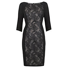 Buy Mint Velvet Matte Sequin Dress, Black Online at johnlewis.com