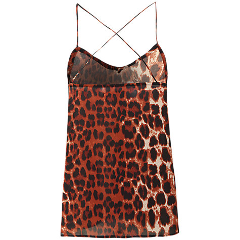 Buy True Decadence Cami Vest, Animal Print Online at johnlewis.com