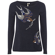 Buy White Stuff Town & Country Jumper, Pitch Blue Online at johnlewis.com