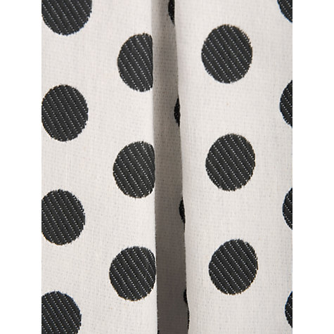 Buy Almari Spot Dress, Black/White Online at johnlewis.com