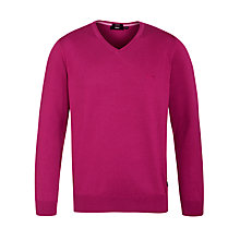 Buy Boss Black Barnabas V-Neck Jumper Online at johnlewis.com