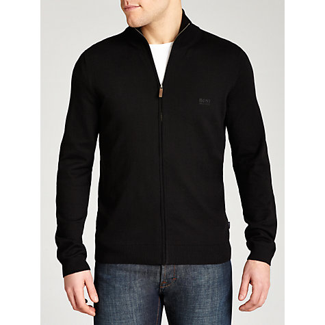Buy Boss Black Bastian Full Zip Cardigan Online at johnlewis.com