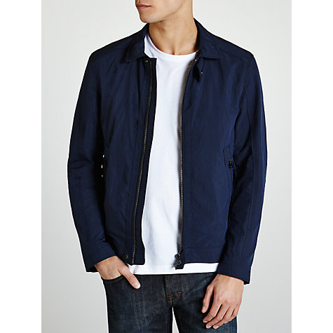 Buy Boss Black Charkin Outdoor Jacket, Navy Online at johnlewis.com