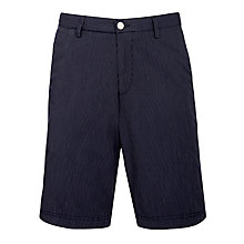 Buy BOSS Clyde Cotton Shorts, Navy Online at johnlewis.com