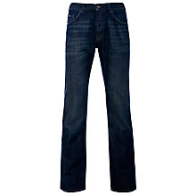 Buy Boss Black Maine 5-Pocket Jeans, Dark Blue Online at johnlewis.com