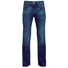 Buy Boss Black Maine 5-Pocket Jeans, Navy Online at johnlewis.com