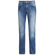 Buy BOSS Maine Jeans, Blue Online at johnlewis.com