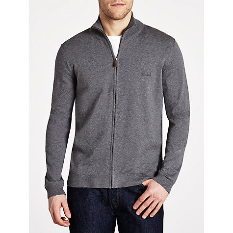 Buy BOSS Bastian Full Zip Cardigan Online at johnlewis.com