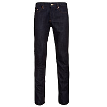 Buy Boss Black Delaware Slim Fit Jeans, Navy Online at johnlewis.com