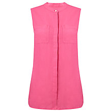 Buy John Lewis Capsule Collection Sleeveless Linen Safari Shirt Online at johnlewis.com
