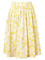 Collection WEEKEND by John Lewis Daisy Print Skirt, Yellow/White