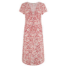 Buy John Lewis Capsule Collection Knot Front Linen Dress, Print Online at johnlewis.com