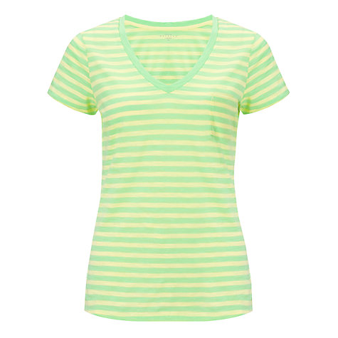Buy Collection WEEKEND by John Lewis Mini Stripe V-Neck T-Shirt Online at johnlewis.com