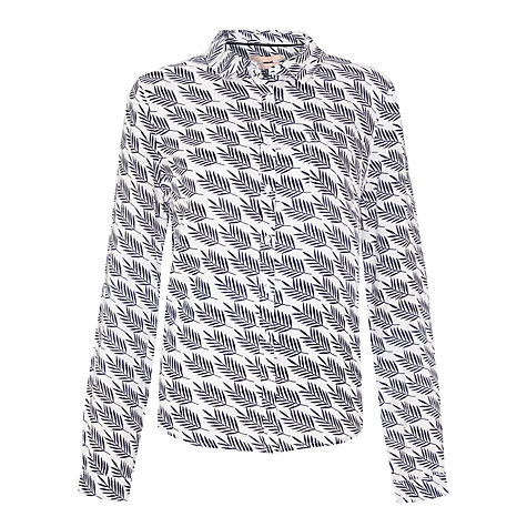 Buy John Lewis Palm Block Print Linen Shirt Online at johnlewis.com