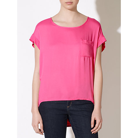 Buy Collection WEEKEND by John Lewis Jersey Woven Top Online at johnlewis.com