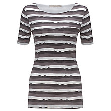 Buy John Lewis Capsule Collection Ripple Stripe Top Online at johnlewis.com