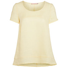 Buy John Lewis Seam Detail Linen Top Online at johnlewis.com
