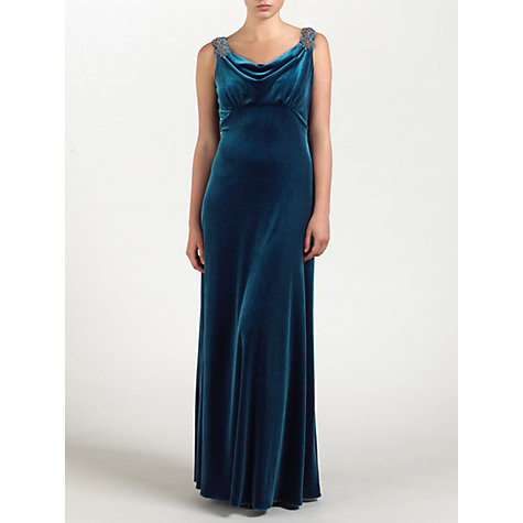 Buy Ariella Rosalie Dress, Teal Online at johnlewis.com