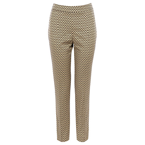 Buy Coast Vegas Trousers, Gold Online at johnlewis.com