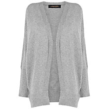 Buy Jaeger Cashmere Cardigan, Mid Grey Online at johnlewis.com