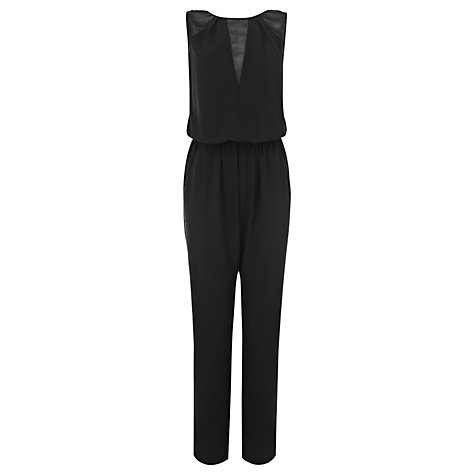Buy Coast Rozelda Jumpsuit, Black Online at johnlewis.com