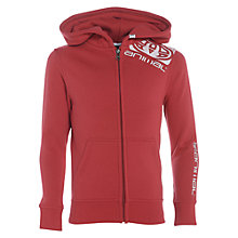 Buy Animal Boys' Zip Through Hoodie, Red Online at johnlewis.com