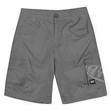 Buy Animal Boys' Cargo Shorts, Grey Online at johnlewis.com