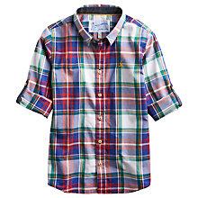 Buy Little Joule Gareth Checked Shirt, Multi Online at johnlewis.com
