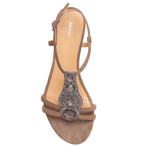 Buy John Lewis Palms Suede Wedge Heel Sandals Online at johnlewis.com