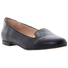 Buy Dune Limbo Loafer Shoes, Black Online at johnlewis.com