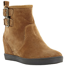 Buy Dune Prowl Ankle Boots, Tan Online at johnlewis.com