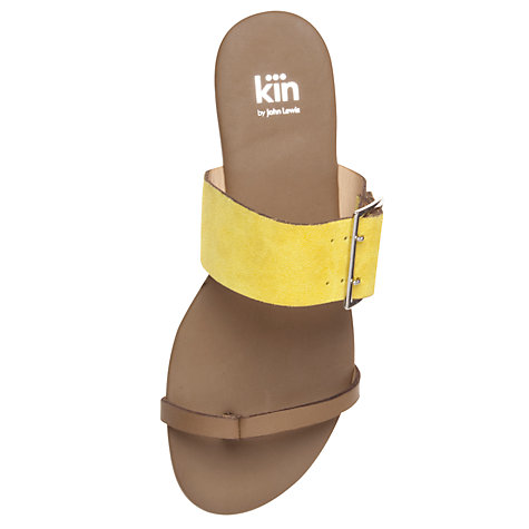 Buy Kin by John Lewis Three Leather Mule Sandals Online at johnlewis.com