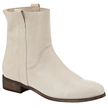 Buy Kin by John Lewis Four Ankle Boots, White Online at johnlewis.com