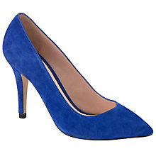 Buy COLLECTION by John Lewis Diego Suede Court Shoes, Cobalt Online at johnlewis.com