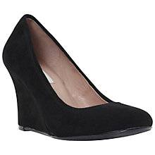 Buy Dune Ameli Wedge Heel Court Shoes, Black Online at johnlewis.com