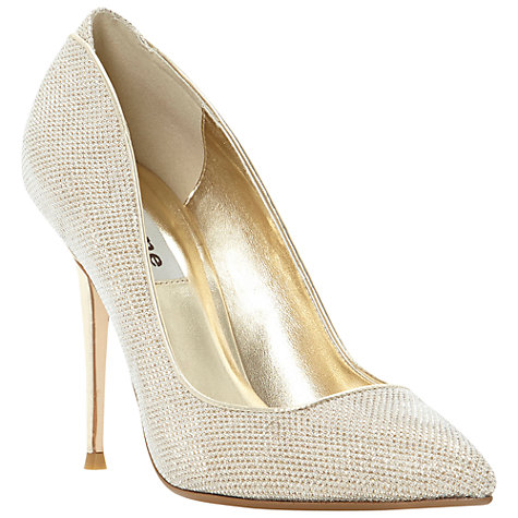 Buy Dune Ballroom Glitter Fabric Stiletto Court Shoes Online at johnlewis.com