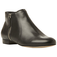 Buy Dune Pandas Leather Side-Zip Ankle Boots Online at johnlewis.com