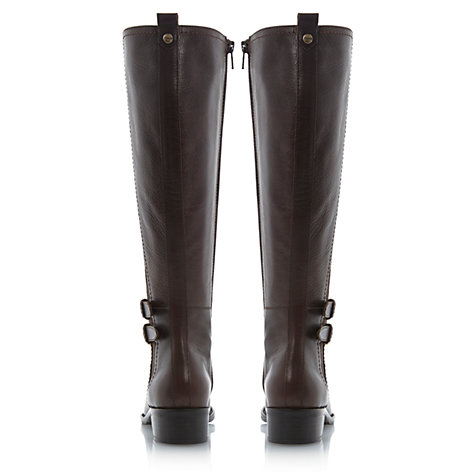 Buy Dune Timpleton Knee Boots, Brown Online at johnlewis.com