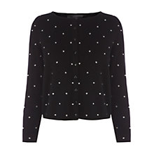 Buy Coast Andrea Cardigan, Black Online at johnlewis.com