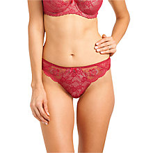 Buy Fantasie Vivienne Thong, Red Online at johnlewis.com