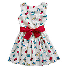 Buy Little Joule Girls' Constance Dress, Multi Online at johnlewis.com