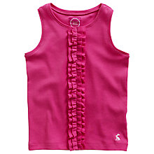 Buy Little Joule Girls' Edith Vest Top Online at johnlewis.com