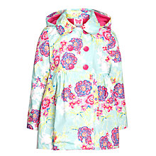 Buy John Lewis Girl Floral Raincoat, Multi Online at johnlewis.com