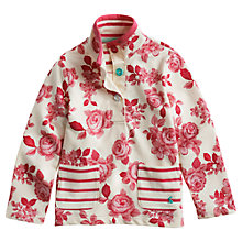 Buy Little Joule Girls' Eden Rose Jumper, Pink Online at johnlewis.com