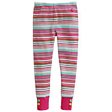 Buy Little Joule Girls' Maylett Multi Stripe Leggings, Multi Online at johnlewis.com