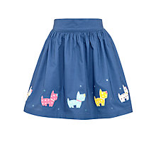 Buy John Lewis Girl Embroidered Dog Skirt Online at johnlewis.com
