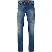 Buy Tommy Hilfiger Girls' Sophie Super Skinny Denim Jeans, Blue Online at johnlewis.com