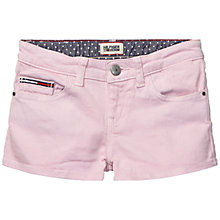 Buy Tommy Hilfiger Girls' Naomi Shorts, Pink Online at johnlewis.com