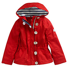 Buy Little Joule Girls' Ruthie Jacket, Red Online at johnlewis.com